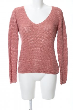 Marc O'Polo Crochet Sweater pink casual look