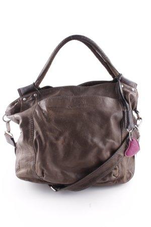 Marc O'Polo Handbag grey brown-brown simple style