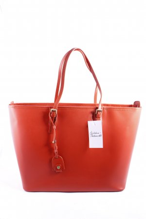 Marc O'Polo Handtasche neonorange Casual-Look