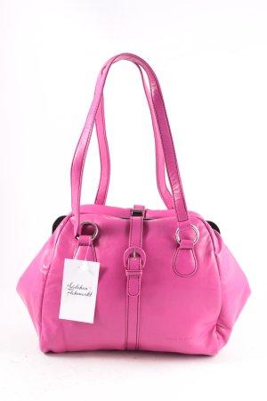 Marc O'Polo Handtasche pink-silberfarben Retro-Look