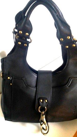 MARC O`POLO     Handtasche schwarz   Leder   NEU