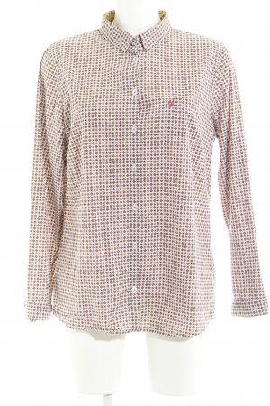 Marc O'Polo Hemd-Bluse abstraktes Muster Business-Look