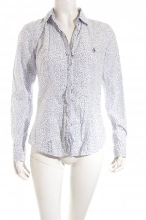 Marc O'Polo Hemd-Bluse abstraktes Muster Casual-Look