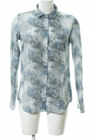Marc O'Polo Hemd-Bluse abstraktes Muster Hippie-Look