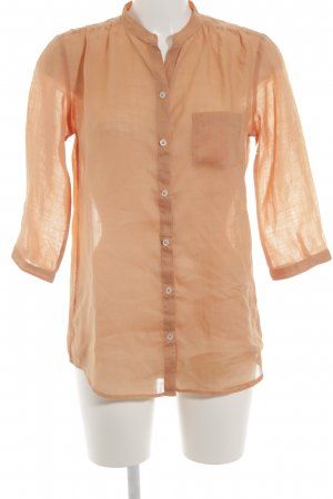 Marc O'Polo Hemd-Bluse apricot Casual-Look