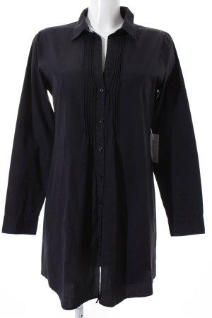Marc O'Polo Hemd-Bluse dunkelblau klassischer Stil