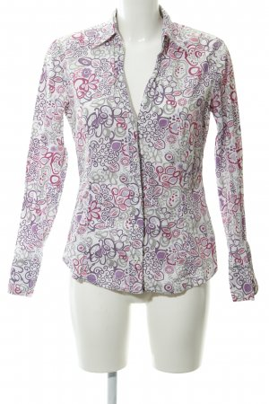 Marc O'Polo Hemd-Bluse florales Muster 60ies-Stil