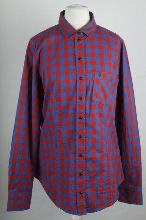 Marc O'Polo Hemd Bluse Gr. 38 rot blau