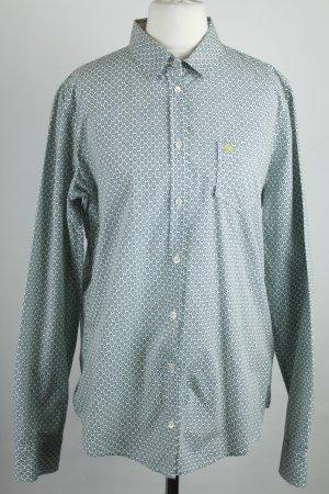 Marc O'Polo Hemd Bluse Gr. 38 weiß grün