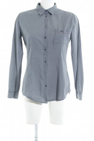 Marc O'Polo Hemd-Bluse grafisches Muster Casual-Look