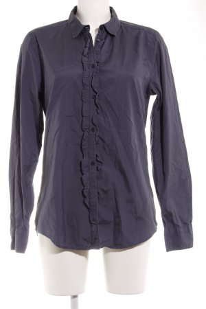 Marc O'Polo Hemd-Bluse graublau-blau Business-Look