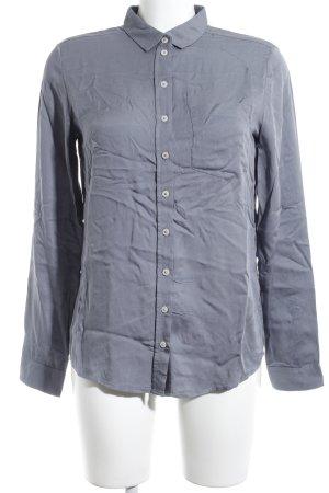 Marc O'Polo Hemd-Bluse graublau schlichter Stil