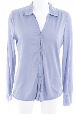 Marc O'Polo Hemd-Bluse helllila Casual-Look