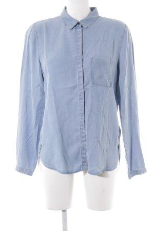 Marc O'Polo Hemd-Bluse himmelblau Casual-Look