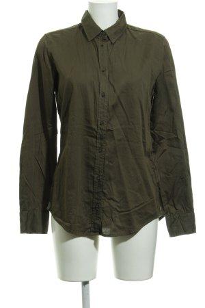 Marc O'Polo Hemd-Bluse khaki Casual-Look