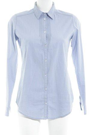 Marc O'Polo Hemd-Bluse kornblumenblau-himmelblau Business-Look