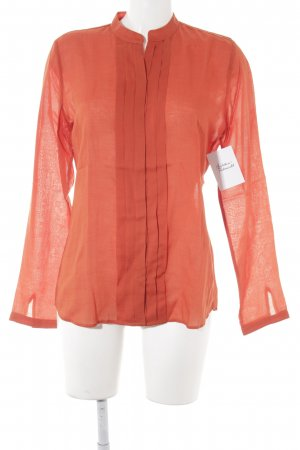 Marc O'Polo Hemd-Bluse neonorange Business-Look