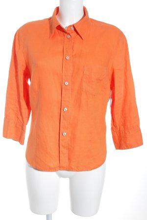 Marc O'Polo Hemd-Bluse orange Casual-Look
