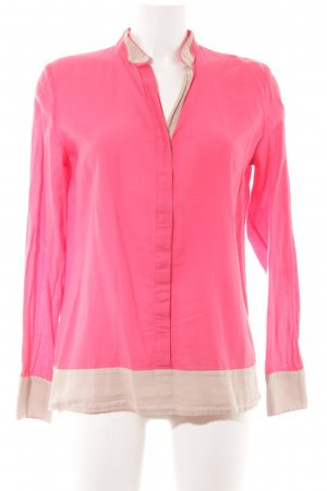 Marc O'Polo Hemd-Bluse pink-beige Business-Look