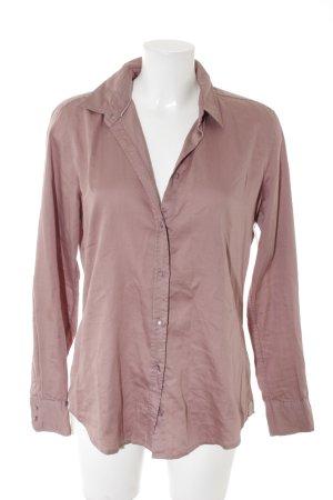 Marc O'Polo Hemd-Bluse rosa Casual-Look