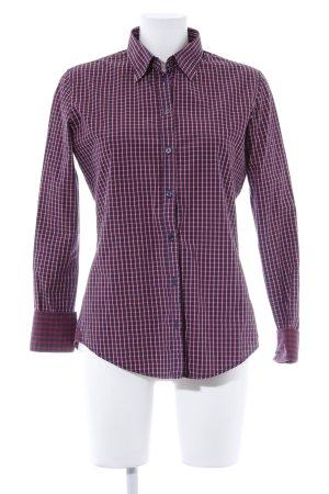 Marc O'Polo Hemd-Bluse rot-blau Karomuster Brit-Look