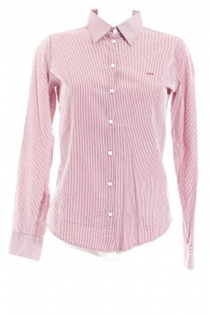 Marc O'Polo Hemd-Bluse rot-weiß Streifenmuster Business-Look
