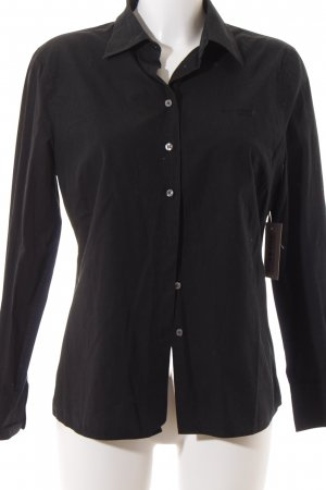Marc O'Polo Hemd-Bluse schwarz Business-Look