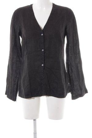 Marc O'Polo Hemd-Bluse schwarz Casual-Look