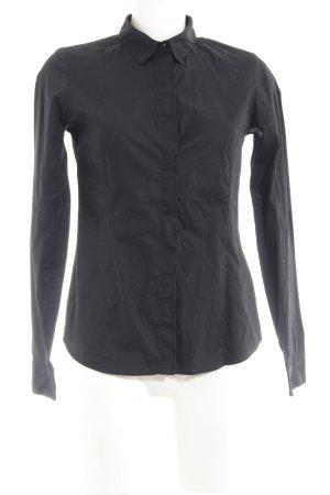 Marc O'Polo Hemd-Bluse schwarz schlichter Stil