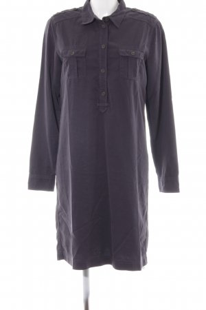 Marc O'Polo Robe chemise gris anthracite style décontracté