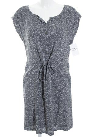 Marc O'Polo Hemdblusenkleid grau-wollweiß Mustermix klassischer Stil