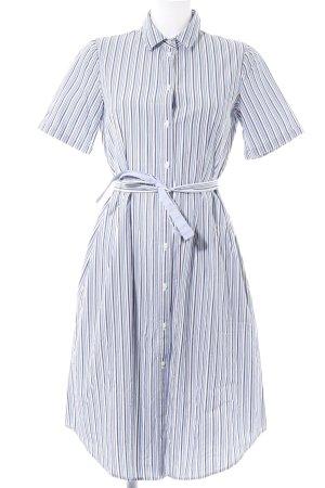 Marc O'Polo Robe chemise bleu azur-gris motif rayé style décontracté