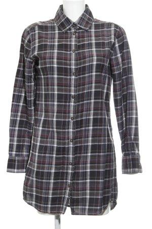 Marc O'Polo Robe chemise motif à carreaux style décontracté