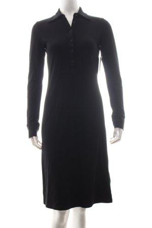 Marc O'Polo Hemdblusenkleid schwarz klassischer Stil