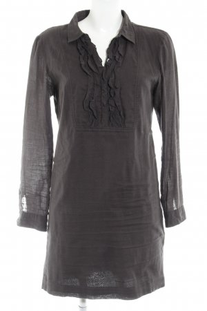 Marc O'Polo Robe chemise taupe style décontracté