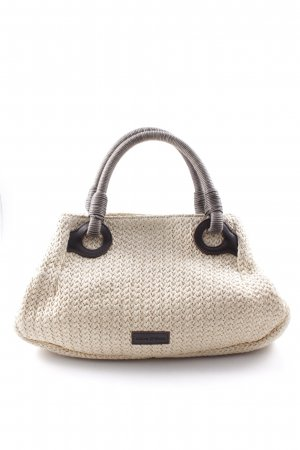 Marc O'Polo Carry Bag cream-brown abstract pattern casual look