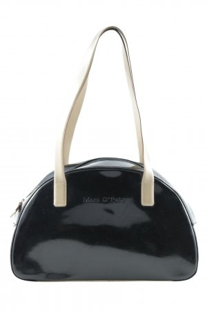Marc O'Polo Carry Bag black-cream wet-look