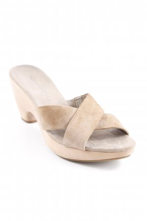 Marc O'Polo High Heel Sandal light brown-camel casual look