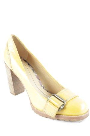 Marc O'Polo High Heels braun-dunkelgelb klassischer Stil