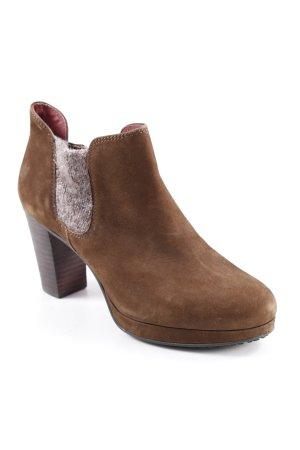 Marc O'Polo High Heels braun-grau Boho-Look