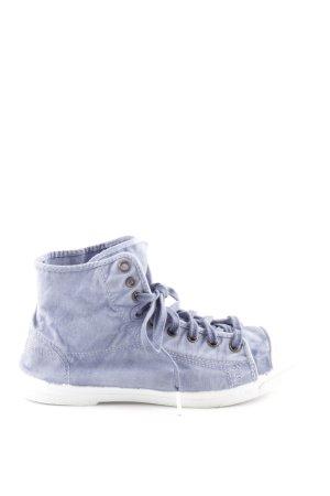 Marc O'Polo High Top Sneaker blau Jeans-Optik