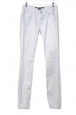 Marc O'Polo High-Waist Hose hellgrau Glitzer-Optik