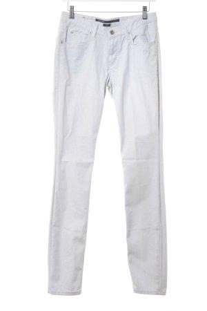 Marc O'Polo Pantalone a vita alta grigio chiaro con glitter