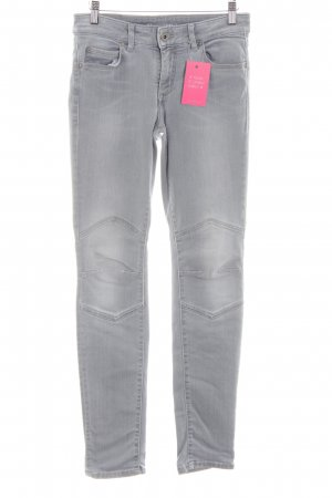Marc O'Polo Hoge taille jeans lichtgrijs casual uitstraling