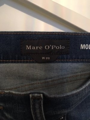 Marc O'Polo High Waist Jeans blue cotton