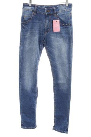 Marc O'Polo High Waist Jeans blau Jeans-Optik