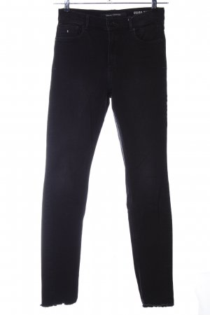 Marc O'Polo High Waist Jeans schwarz Casual-Look