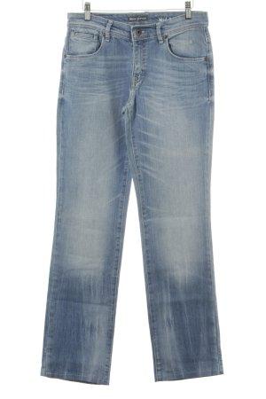 Marc O'Polo Hoge taille jeans azuur klassieke stijl