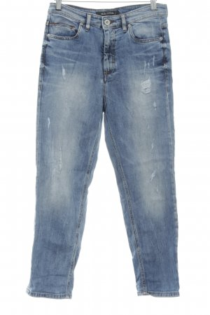 Marc O'Polo Hoge taille jeans veelkleurig gewassen uitstraling