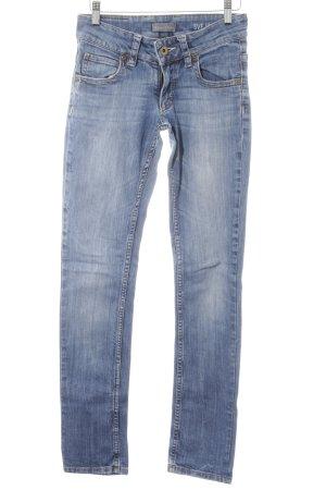 Marc O'Polo High Waist Jeans stahlblau Vintage-Look